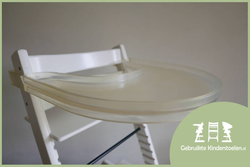 Stokke Tray transparant oud model