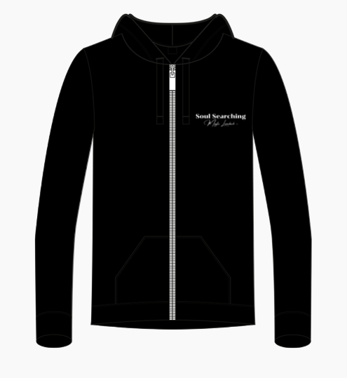 Zipped hoodie (Design) | Soul Searching design