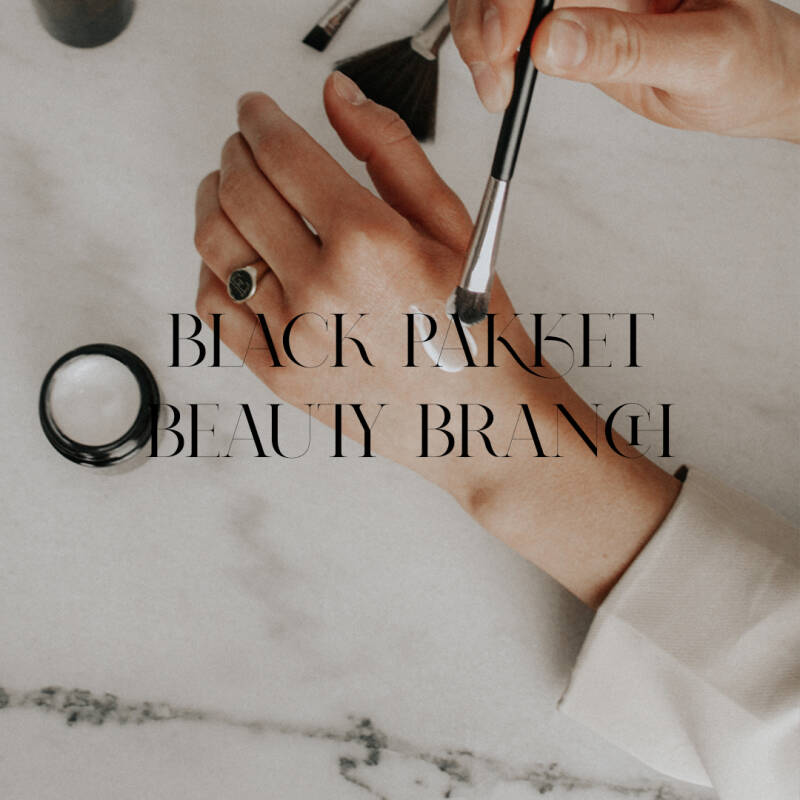 Social media kit Beauty branch BLACK