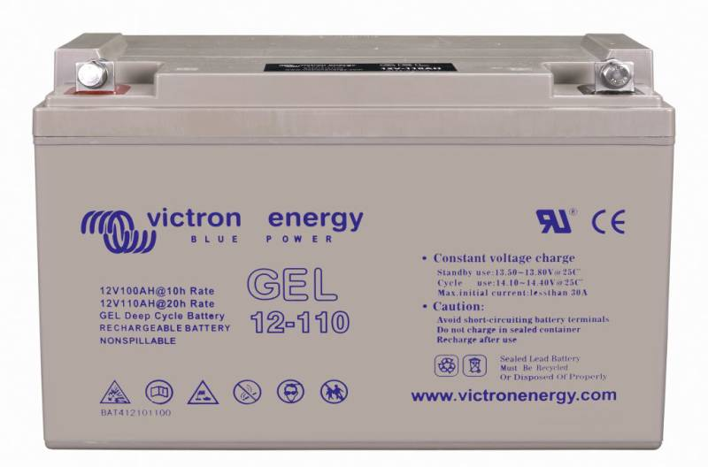 Victron Gel Deep Cycle (C20 capacity) accu's
