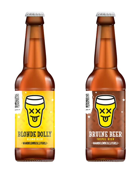 blonde dolly / bruine beer mixpack (6 st.)