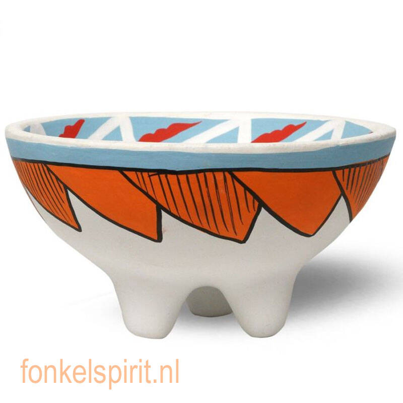 Native Soul Tribal Smudge bowl triquetra with legs
