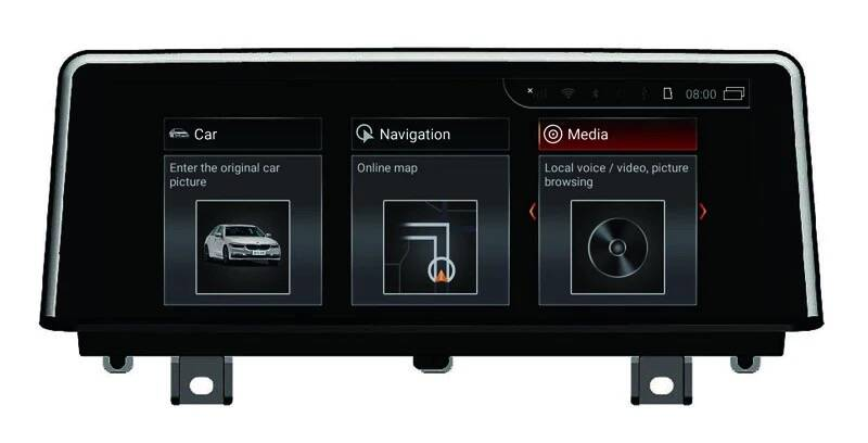 BMW 3-Serie Android 10 F30 / F31 / F34