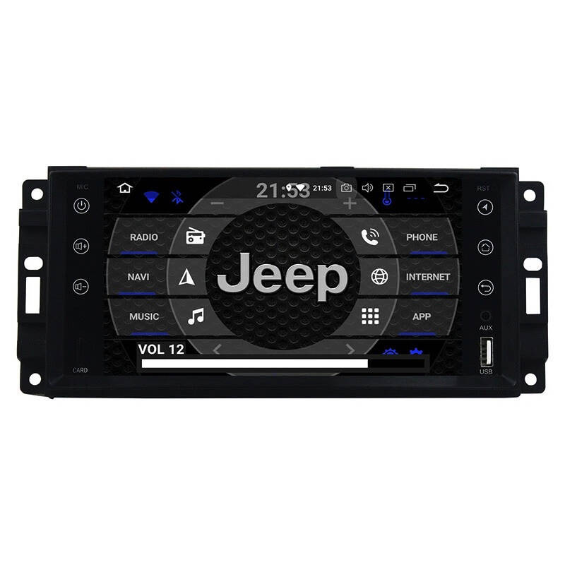 Jeep Commander Android 10 Navigatie