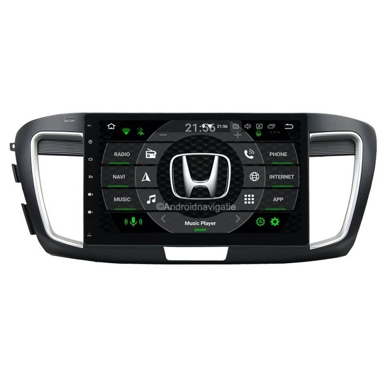 Honda Accord 9th Android 9 Navigatie
