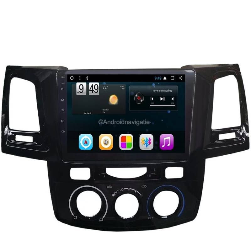 Toyota Fortuner Android 9 Navigatie