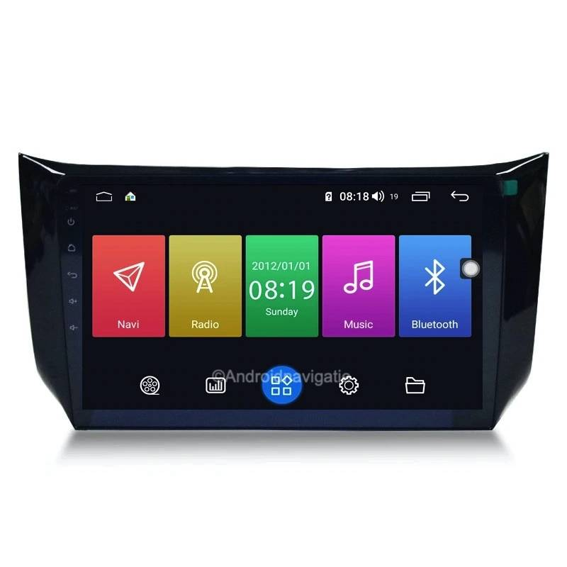 Nissan Sylphy Android 9 Navigatie