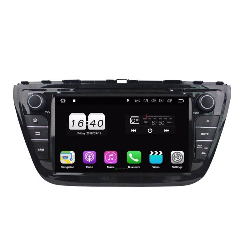 Suzuki SX4 S Cross Android 10 Navigatie