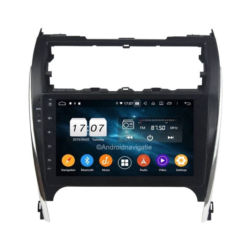 Toyota Camry Android 9 Navigatie