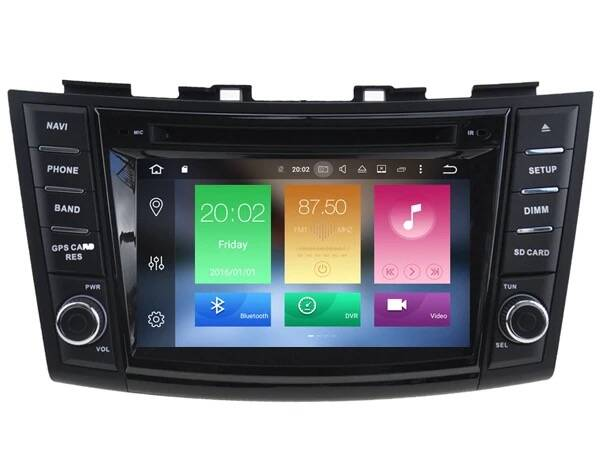 Suzuki Swift Android 10.0 Navigatie