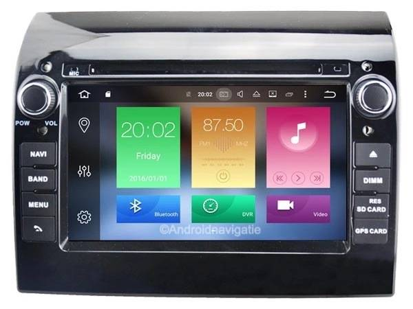 Fiat Ducato Android 9 Navigatie