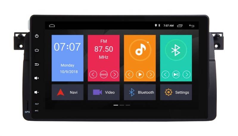 BMW 3-Serie Android 9 Navigatie 9 Inch E46