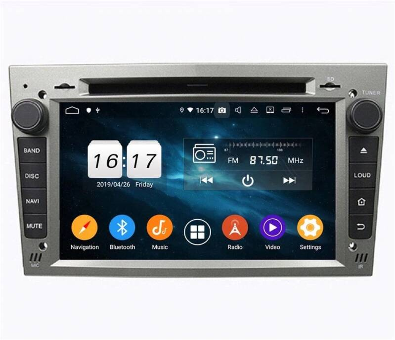 Opel Astra Android 10 Navigatie