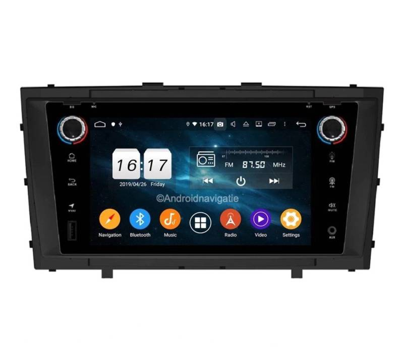 Toyota Avensis T27 Android 9 Navigatie