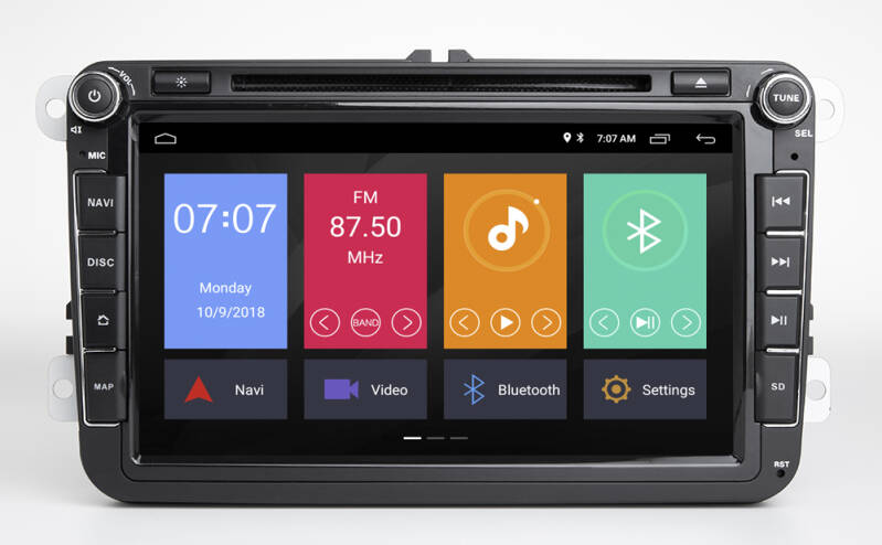 Multimedia Systeem Golf 6 RNS 510 Android 10 Navigatie