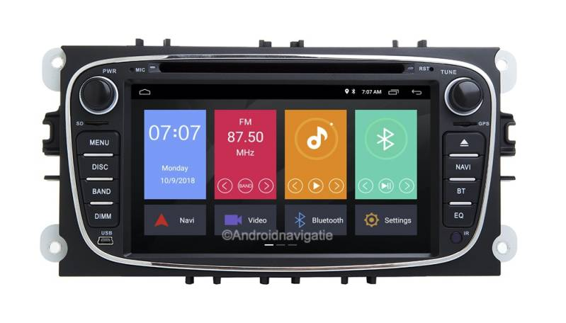 Ford S-Max Android 10 Navigatie