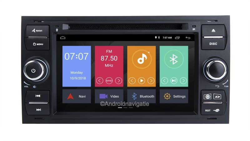 Ford Galaxy Android 10 Navigatie