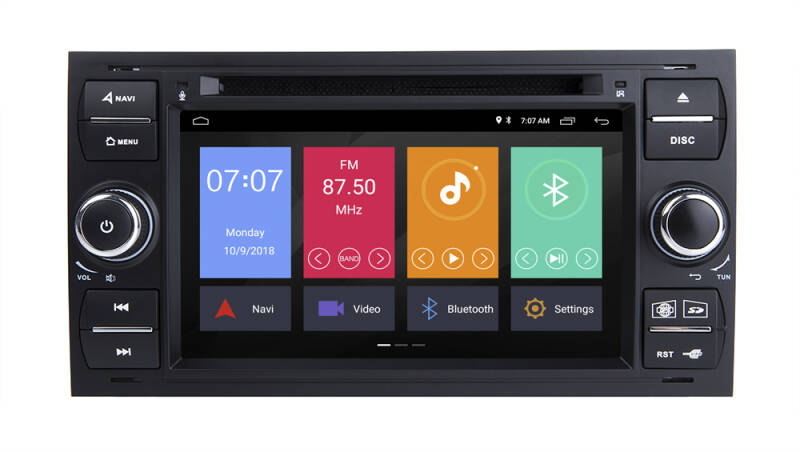 Ford Focus 2 Android 10 Navigatie