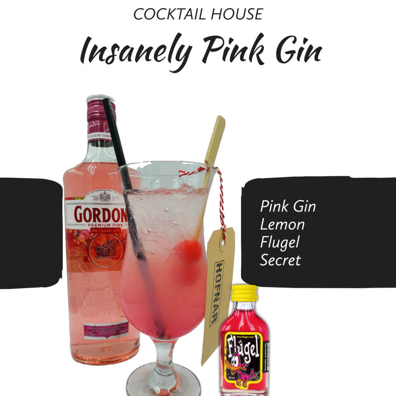 Insanely Pink Gin