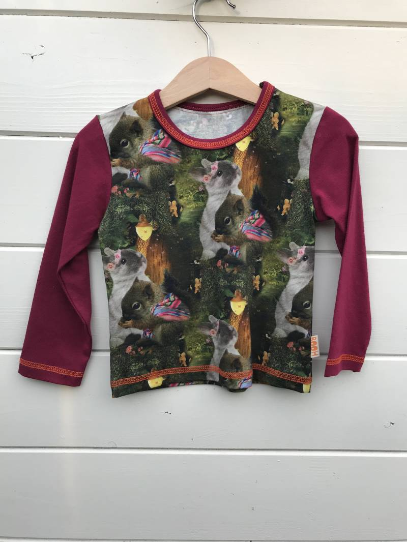 Shirt KATE 'Little Forest Friends'