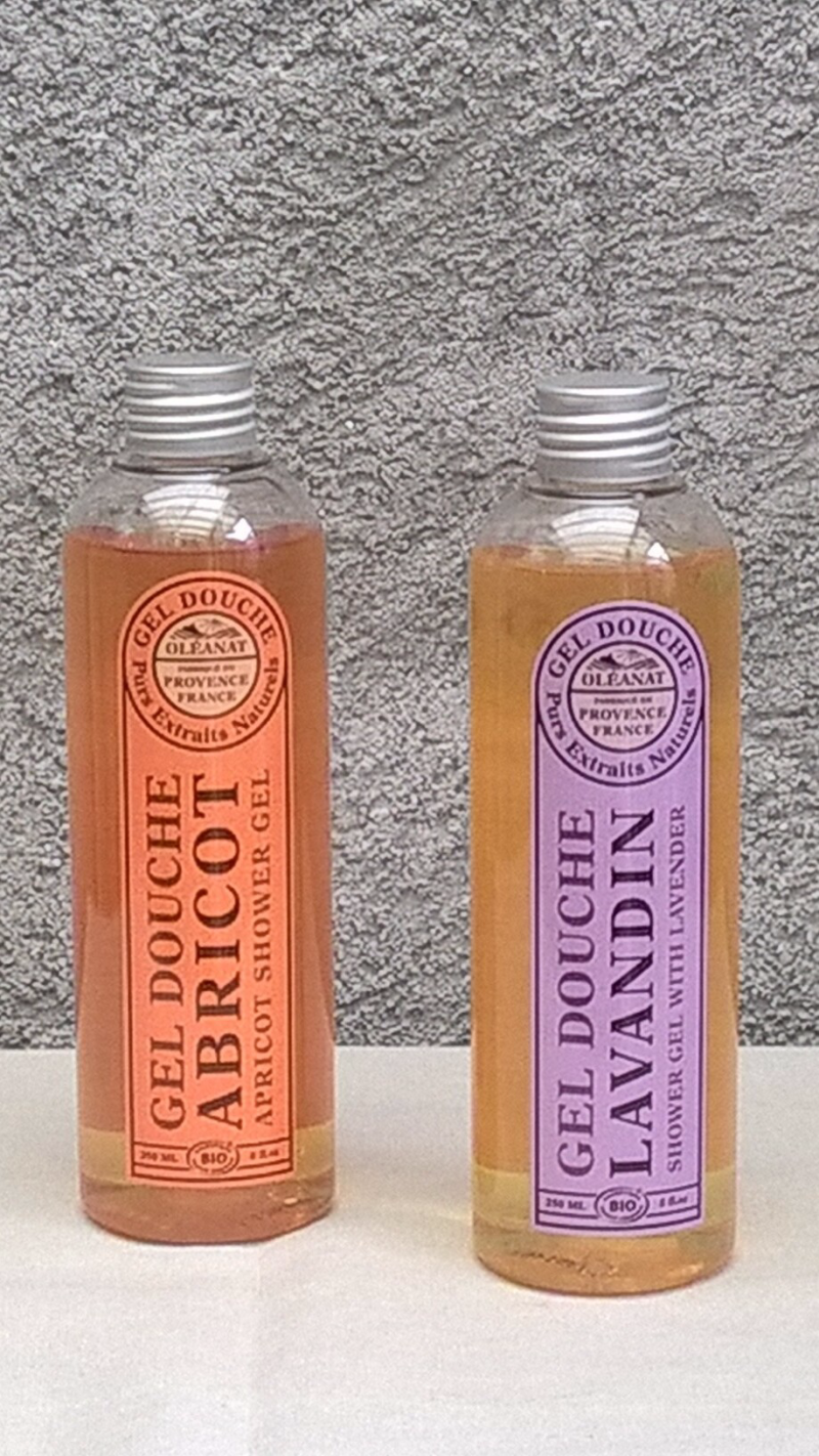 Abricot shower gel 250 ml - Provence France