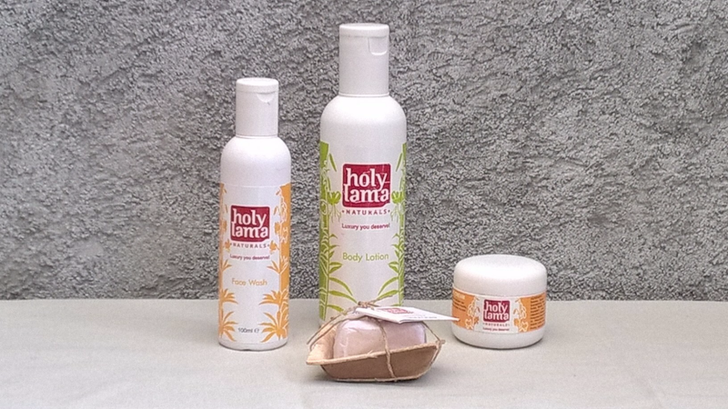 Holy Lama - face wash, body lotion & soap
