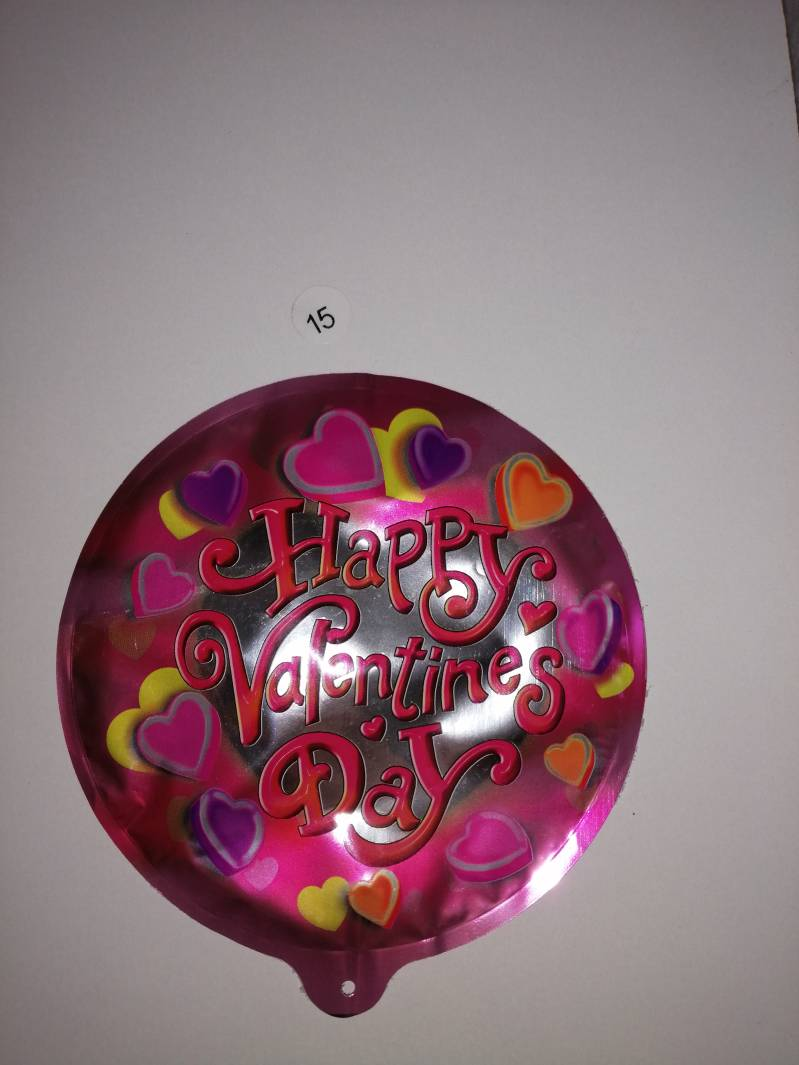Happy valentine Folie ballon