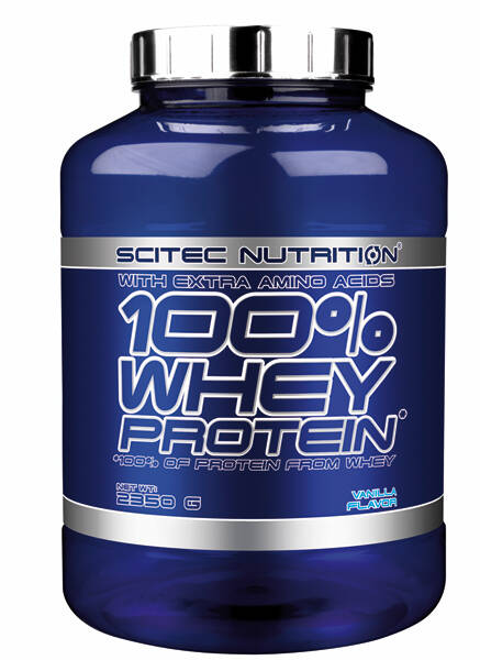 Scitec Nutrition 100% Whey Protein - 2350 gr