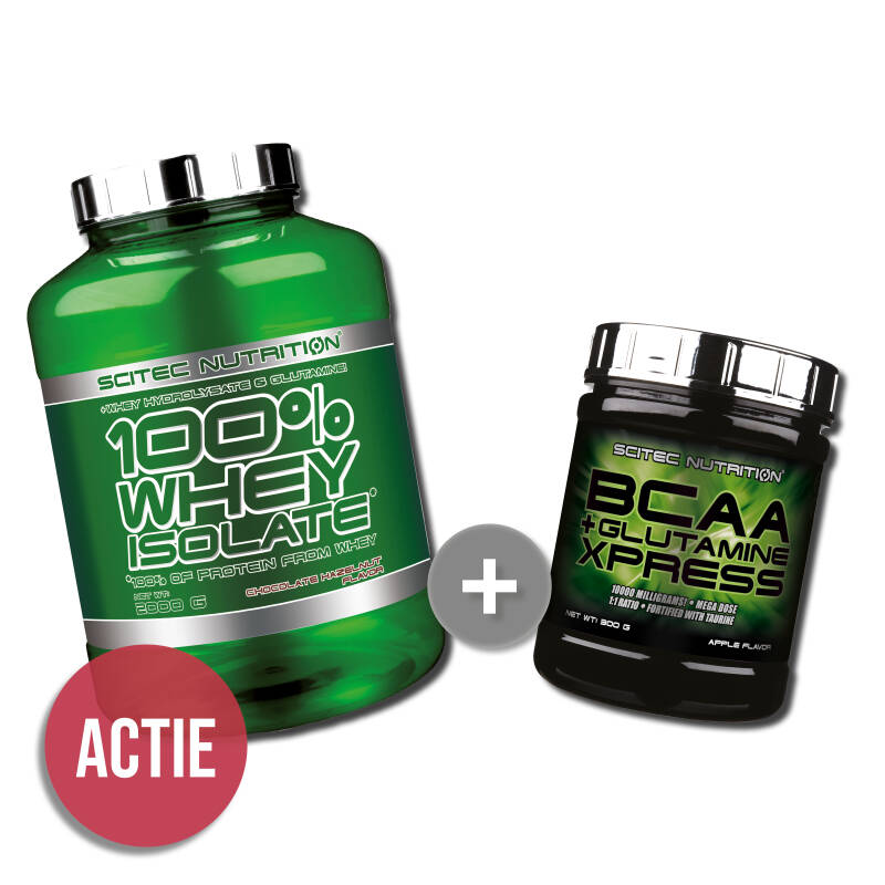 Scitec Nutrition Whey Isolate + BCAA+Glutamine Xpress