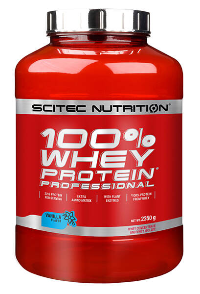 Scitec Nutrition 100% Whey Professional - 2350gr