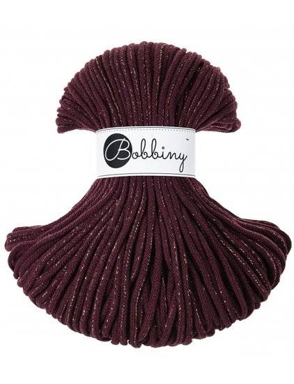 Limited Edition! Bobbiny premium gold maroon