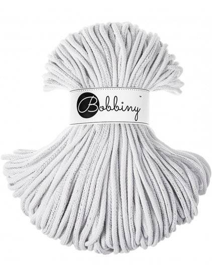 Limited Edition! Bobbiny premium silvery white