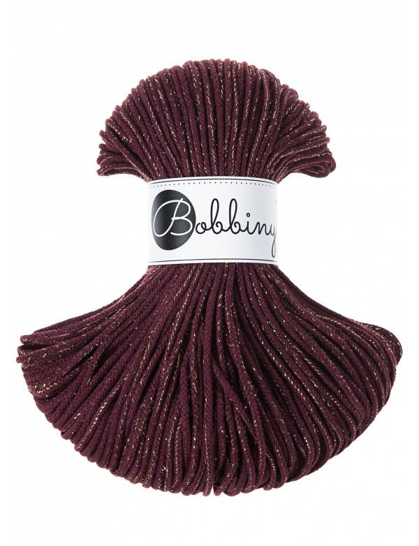 Limited edition! Bobbiny junior golden maroon