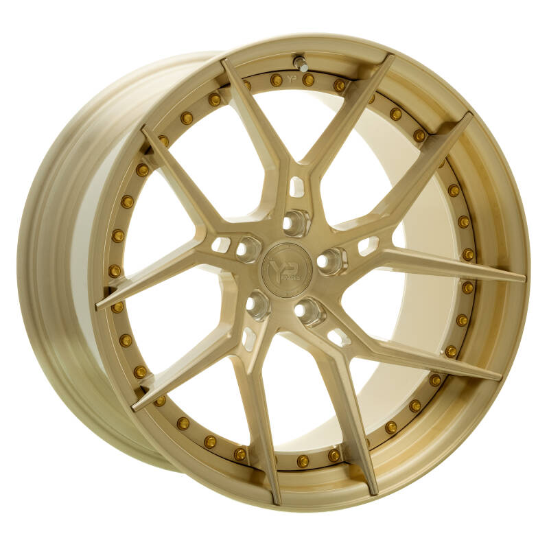 Yido Performance | YP 6.2 | FORGED CUSTOM | Brushed Gold