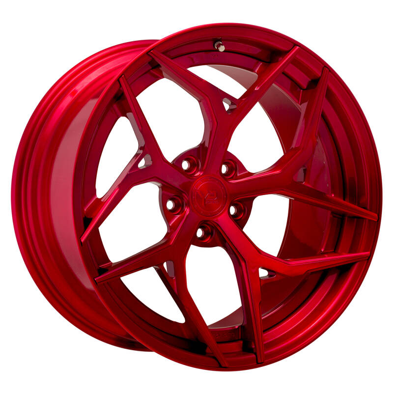 Yido Performance | YP 7.2 | FORGED CUSTOM | Brushed Candy Red