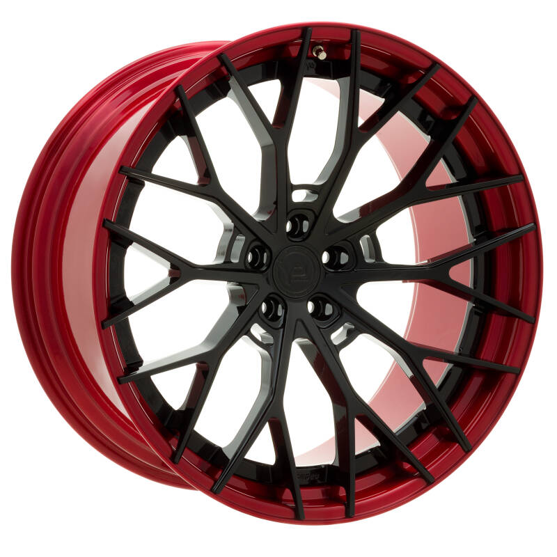 Yido Performance | YP 8.2 | FORGED CUSTOM | Gloss Black/ Candy Red Lip