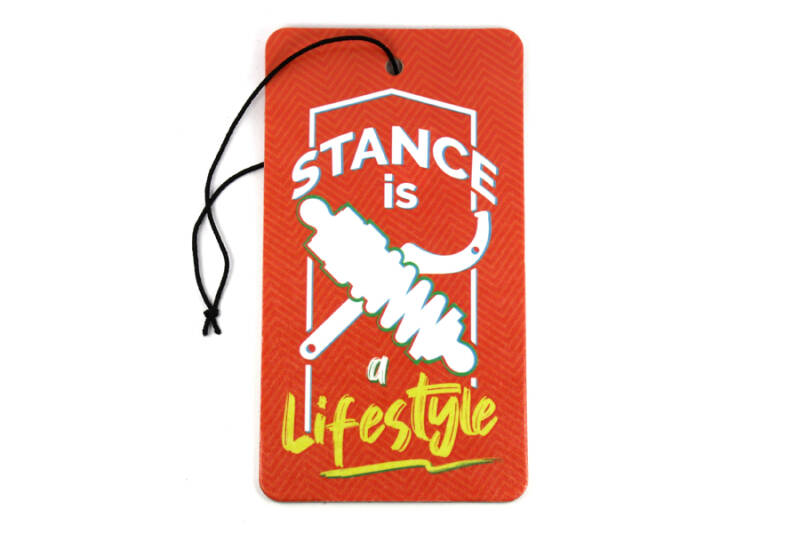 Stance is a lifestyle | luchtverfrisser