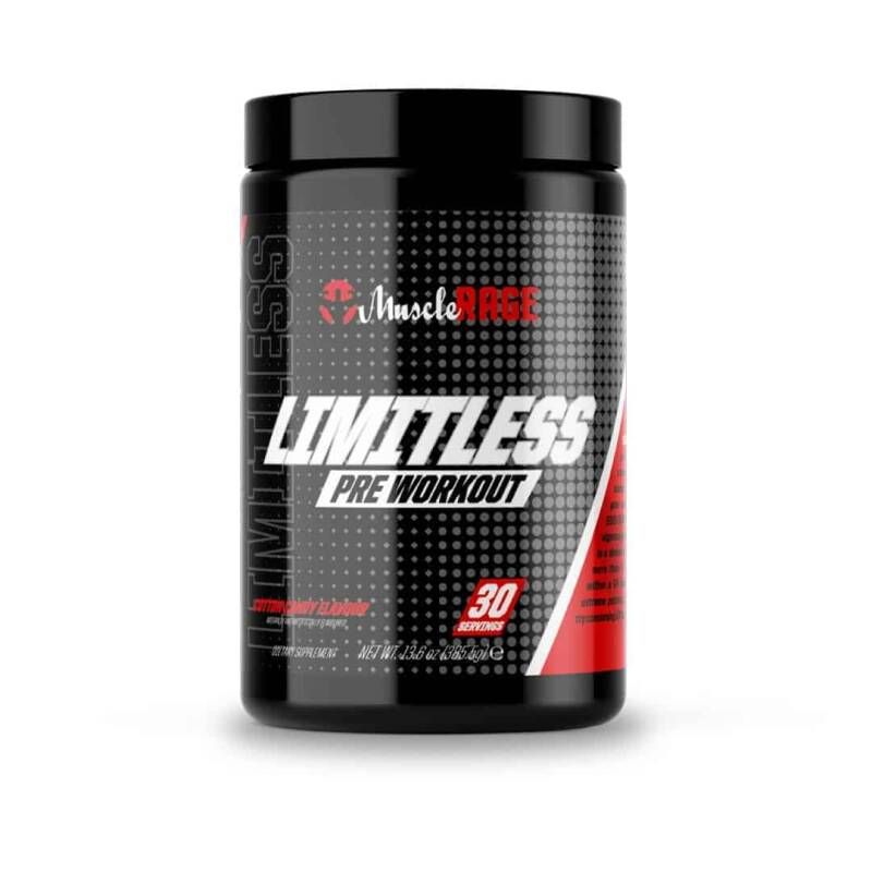 Muscle Rage Limitless Pre-Workout – 385 Gram