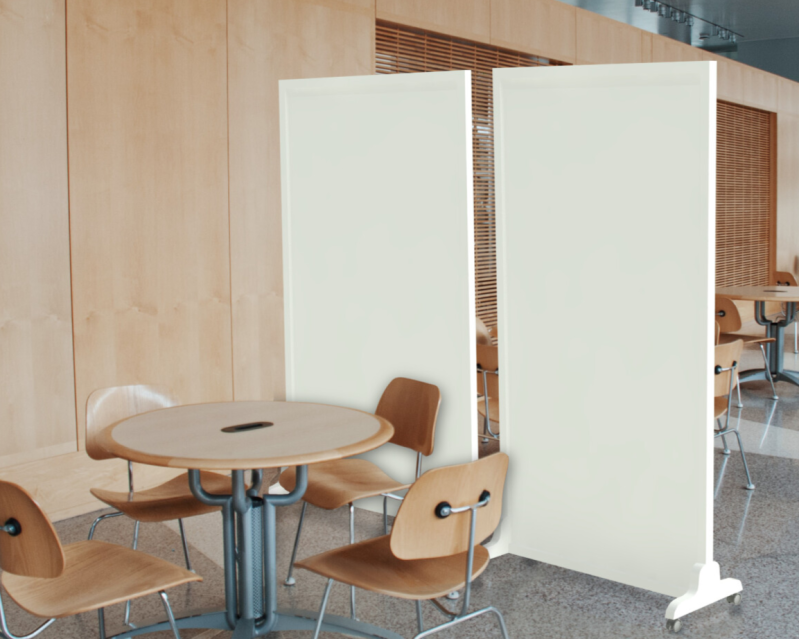 Partitionwall Bestseller, with lacquered panels