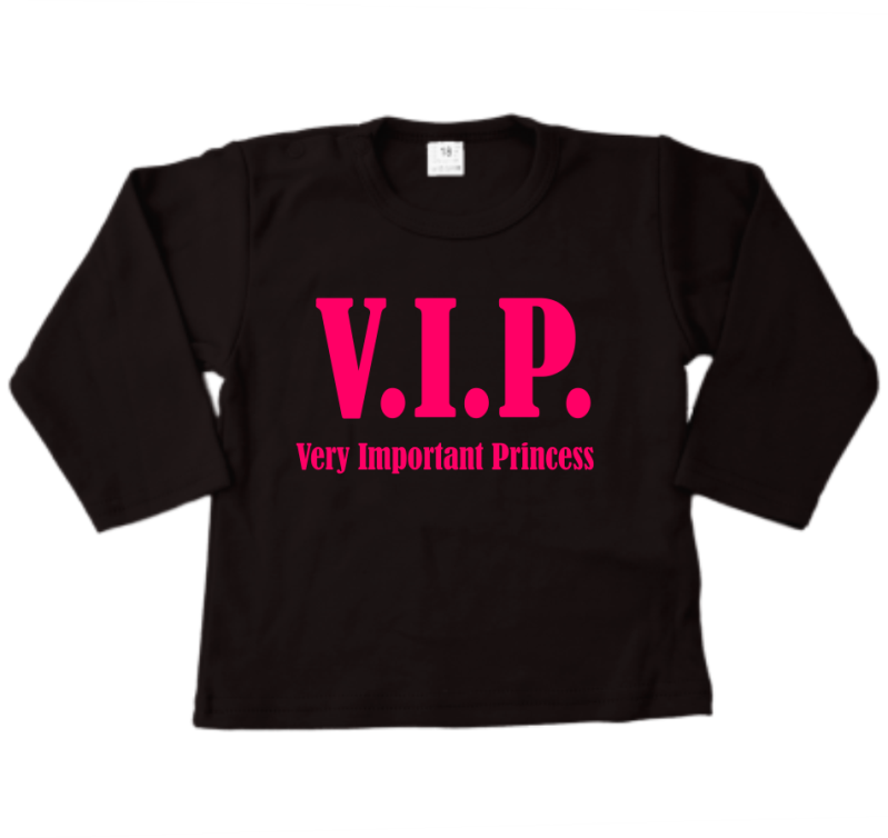 Shirt lange mouw VIP (VERY IMPORTANT PRINCESS)