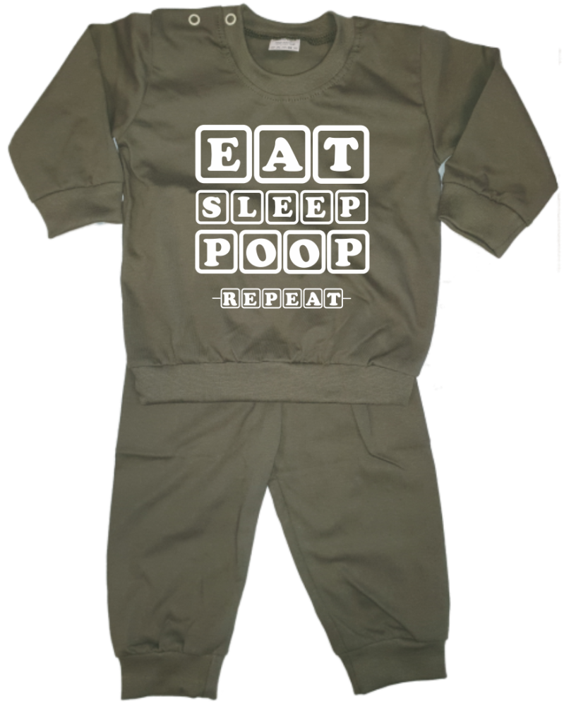 Pyjama EAT SLEEP POOP REPEAT