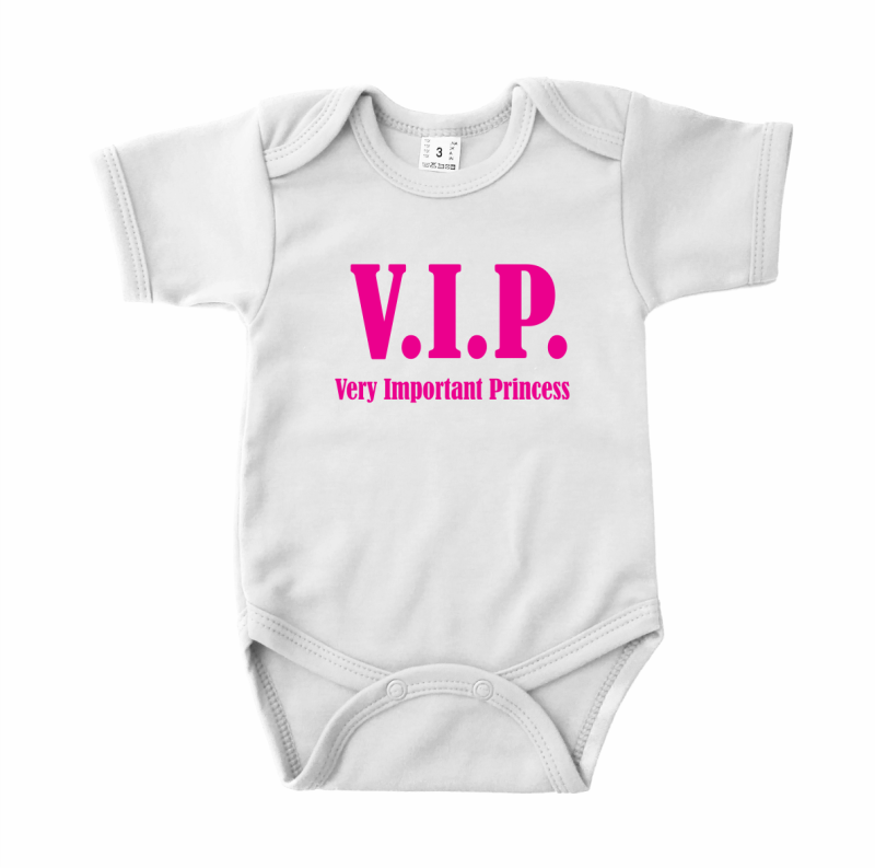Romper korte mouw VIP (VERY IMPORTANT PRINCESS)