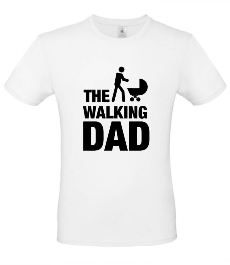 Papa t-shirt The walking DAD