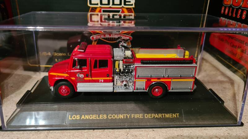 Code 3 Collectibles - Los Angeles - Freightliner Engine 79