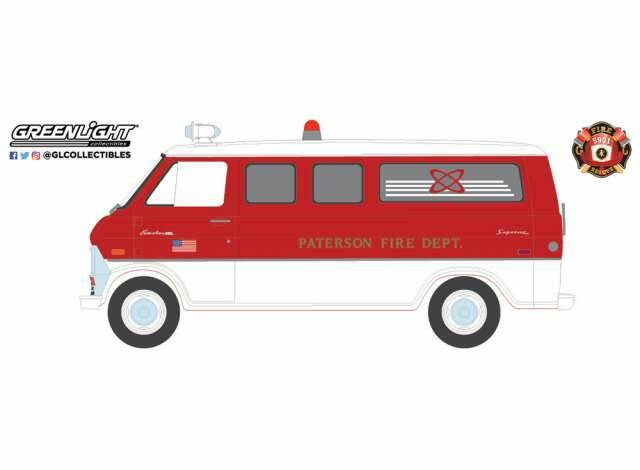 Greenlight - Ford Ecoline 1970 - Paterson Fire Dept Paterson New Jersey