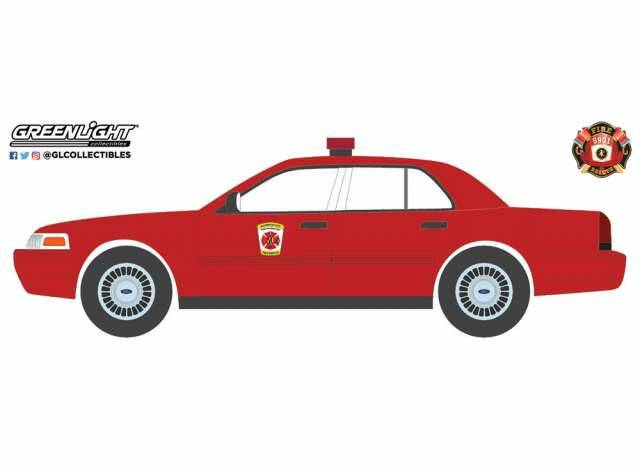 Greenlight - Ford Crown Victoria 2001 - Baltimore City Maryland Fire Department
