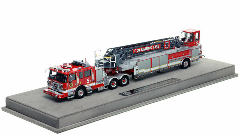 """Fire Replicas - Columbus Division of Fire - Ladder 5 """"House of the Rising Sun"""""""