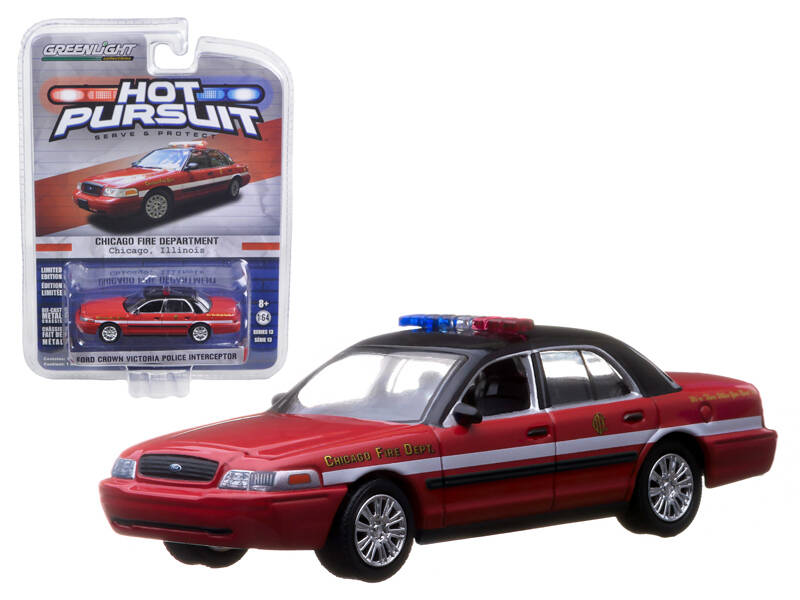 Greenlight - Ford Crown - Chicago Fire Department