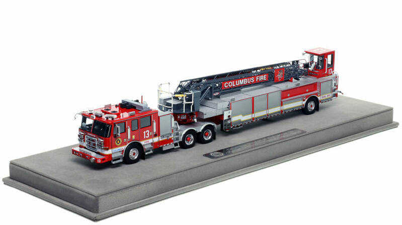 """Fire Replicas - Columbus Division of Fire - Ladder 13 """"The Big Stick"""""""