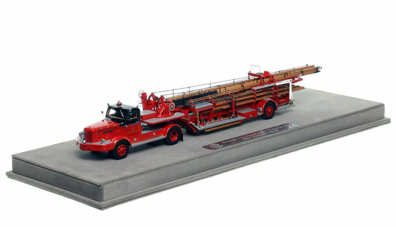 Fire Replicas - Chicago Fire Department - 1954 FWD Tractor-Drawn Aerial - H&L Company 53
